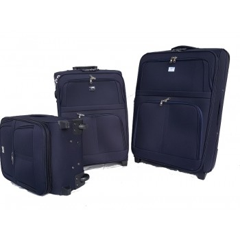 SET TROLLEY POLIESTERE  BX BY LUIGI BENETTON 2R 103